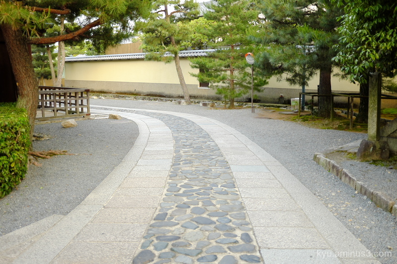 path Daitokuji temple Kyoto