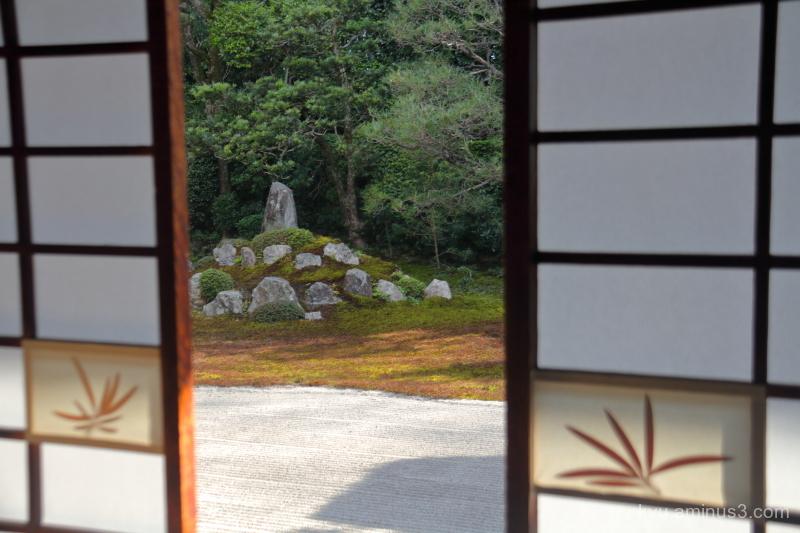 dry-landscape-garden Fundain temple Kyoto