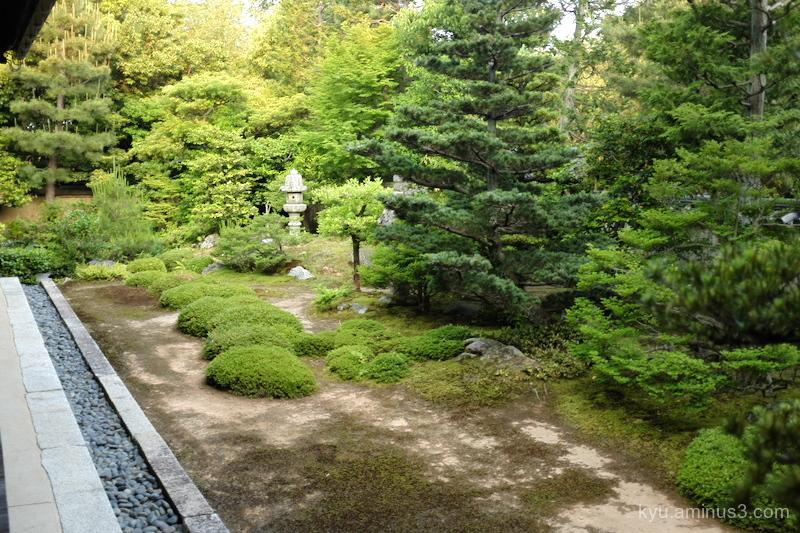 dry-landscape-garden Daiouin temple Kyoto