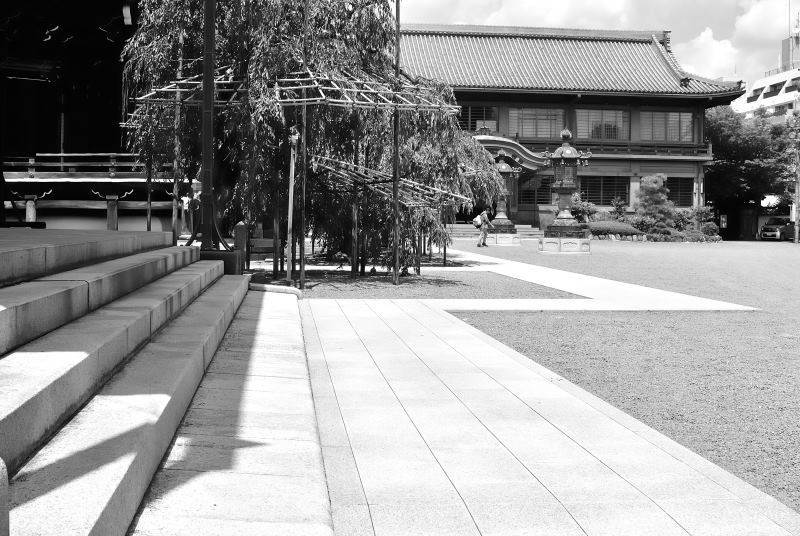 summer Bukkouji temple Kyoto