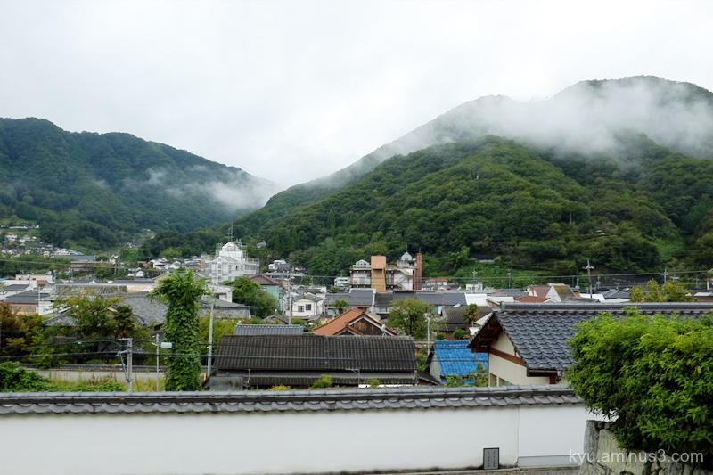 view Raikyuji temple Takahashi Okayama