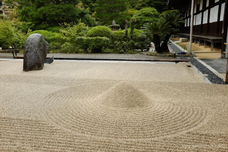 garden Iyamahoufukuji temple Okayama