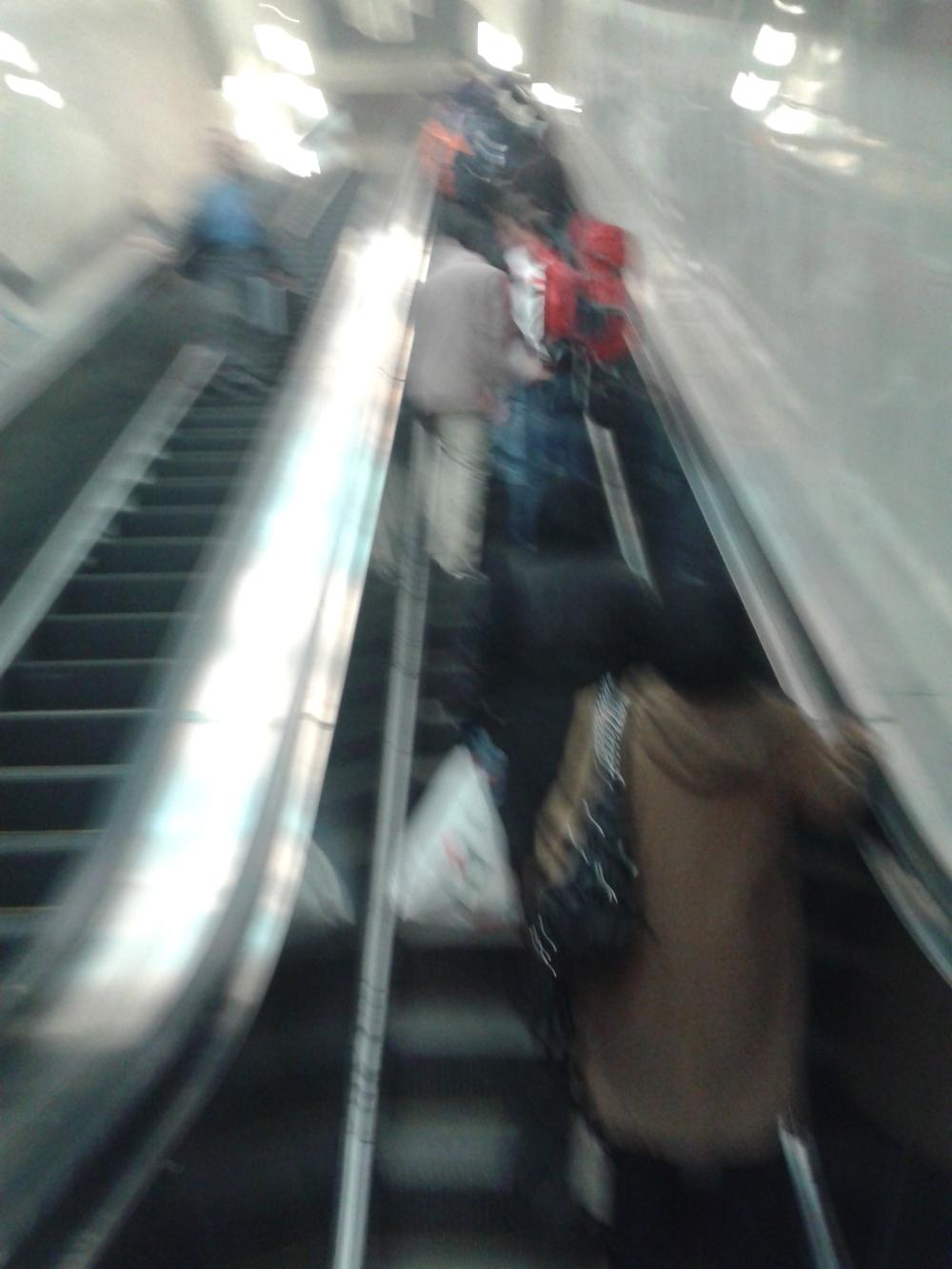مترو شلوغی