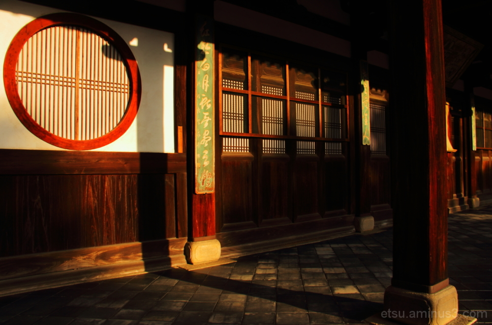 Toward evening  萬福寺