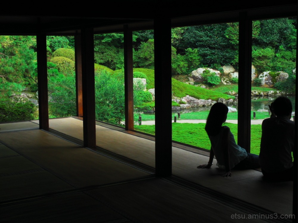 Relaxing....... 青蓮院