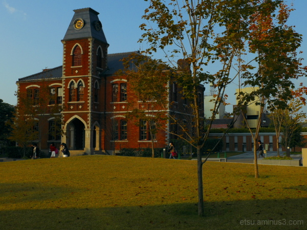 At the campus......... 同志社大学