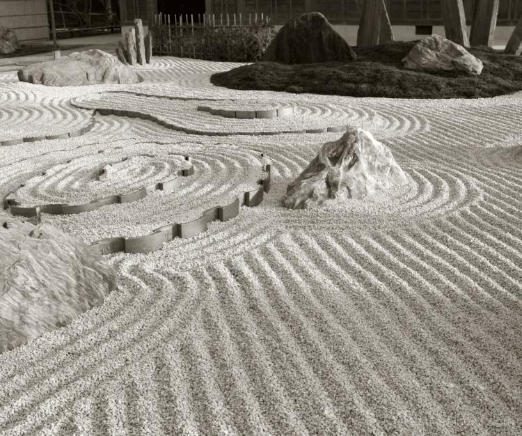 Waves in the garden.......