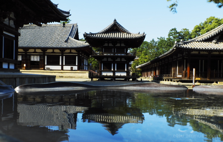 Reflecitons (at a temple)