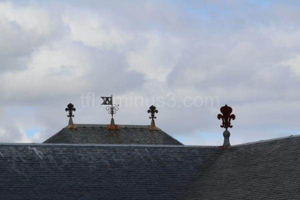 Roofline at Louisbourg