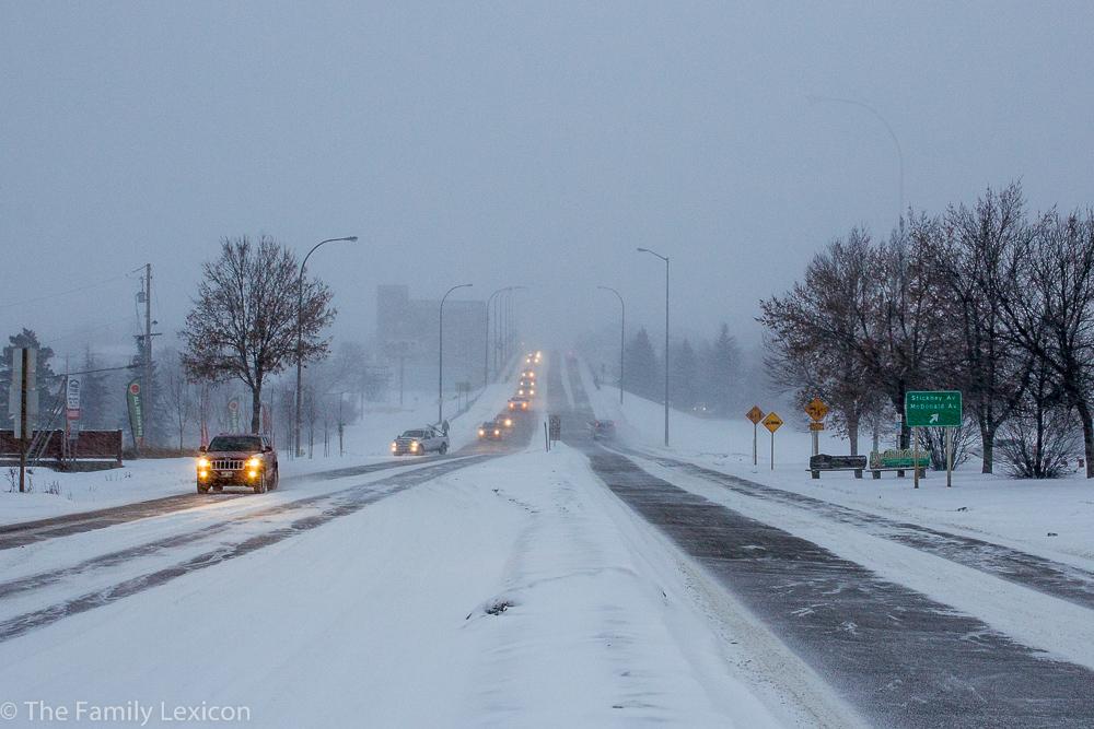 Winter day in Brandon
