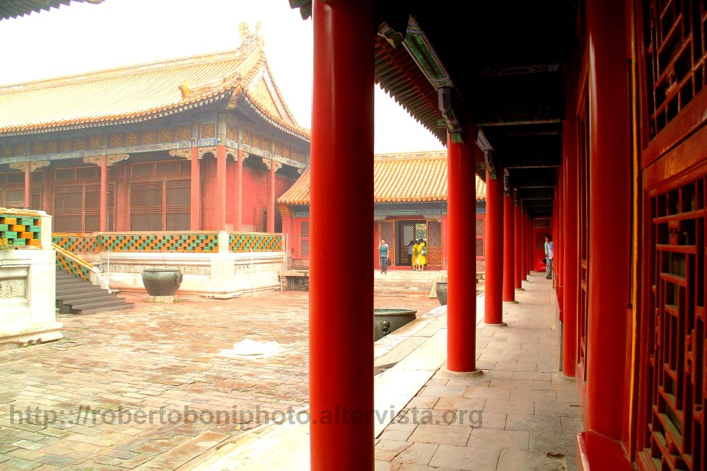 a glimpse of the Forbidden City