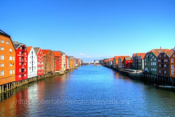 Nidelva River at Trondheim