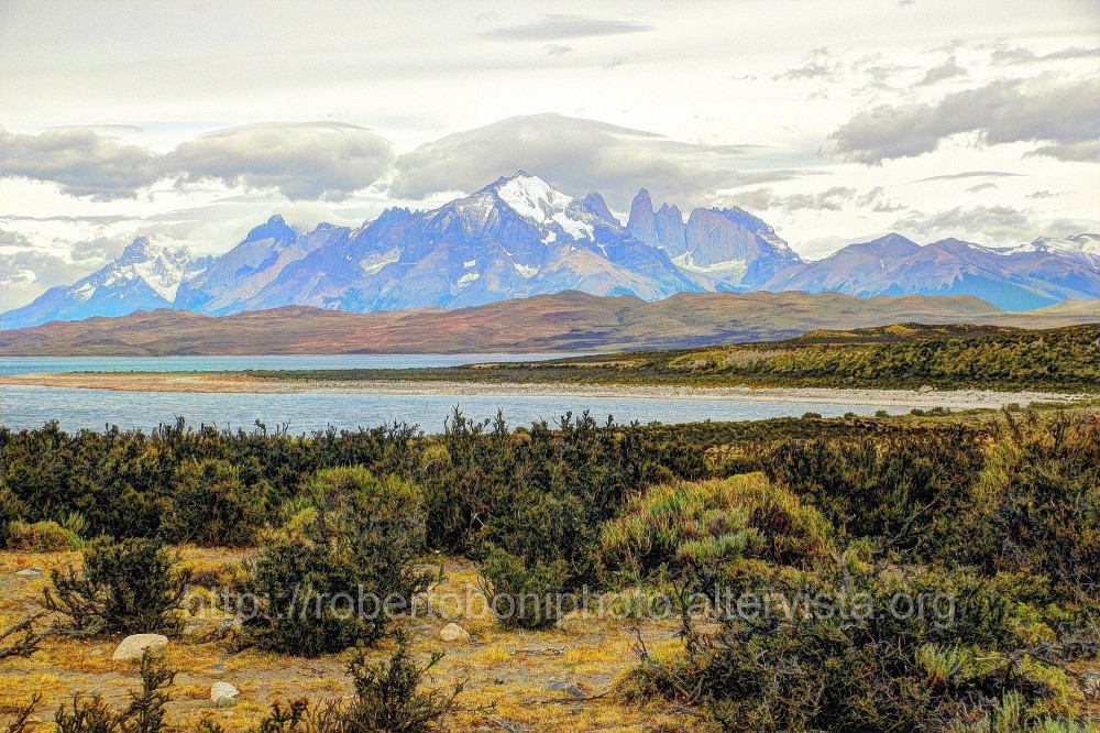 the Park of Torres del Paine, South Chile