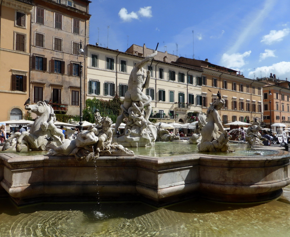 ROME :  LES FONTAINES - 6 -