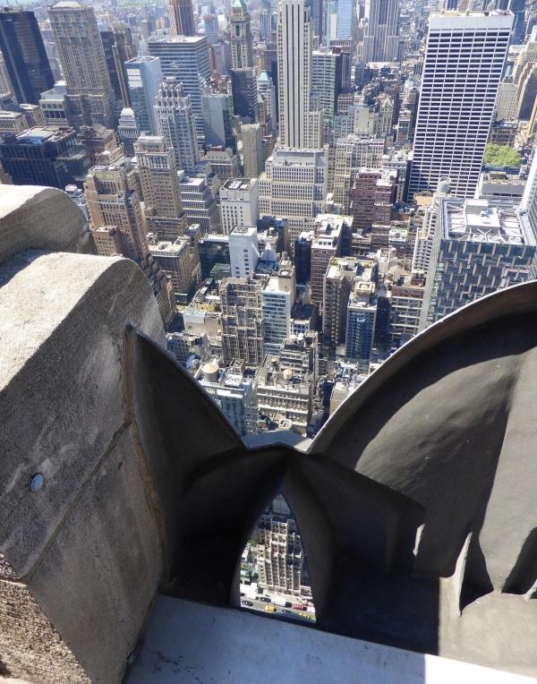 NEW-YORK : Vertige .. (vue d'en haut...)