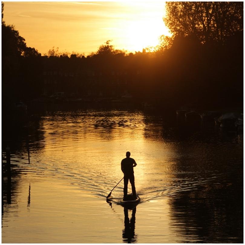 paddle à Amsterdam