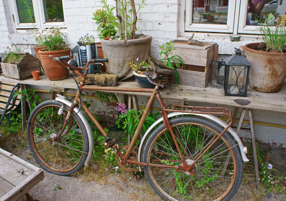 A bike ride away