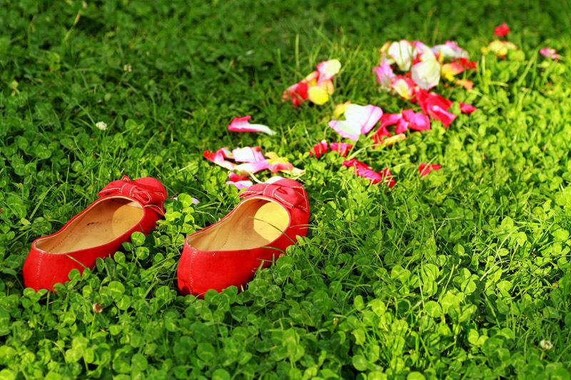 سیندرلا کفش ها تو جا گذاشتی