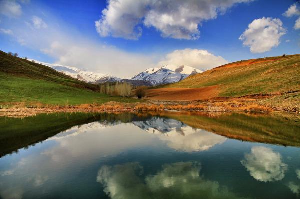 بهشتی در استانه اردیبهشت