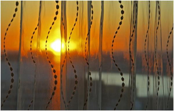 Veiled Sunset