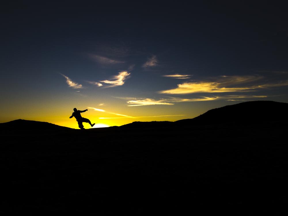 Jump to the sun