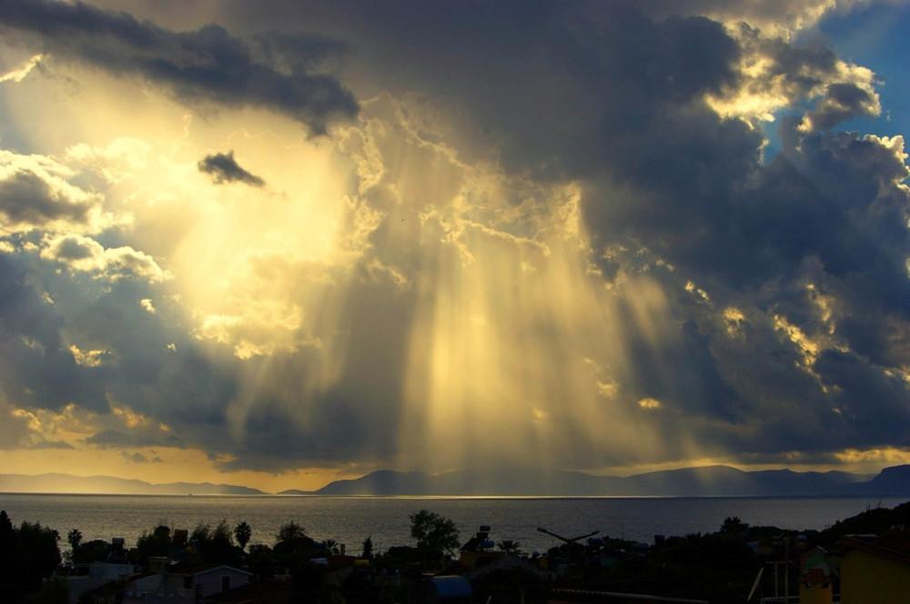 Sunset Over Samos