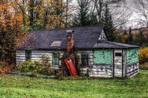 Abandoned Cabin Vermont