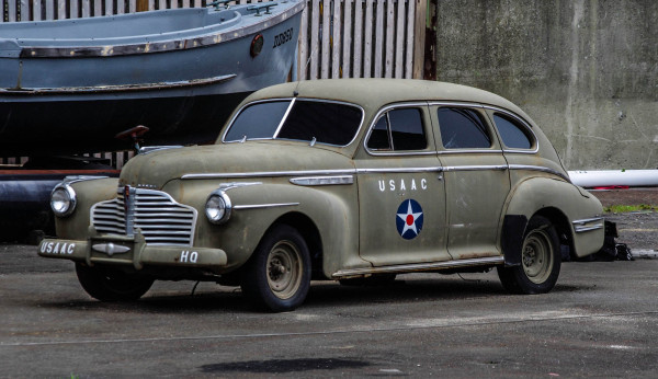 WW2, US Army Air Corps Staff Car.