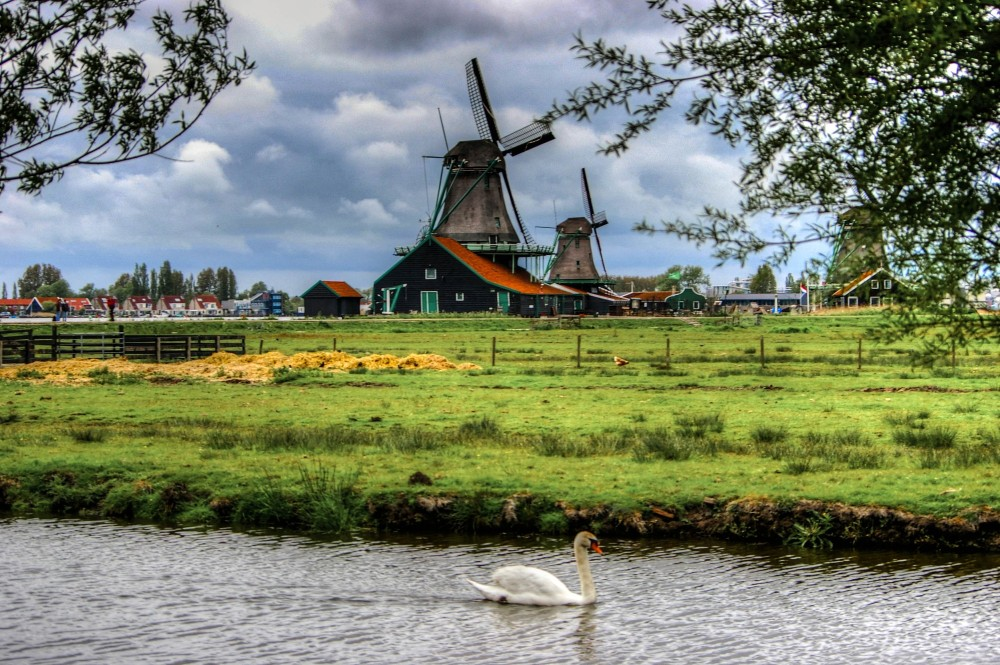 Windmills, Holland