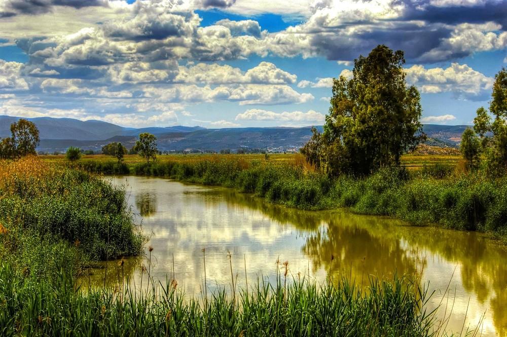 Buyuk Menderes River, Aydin Turkey.