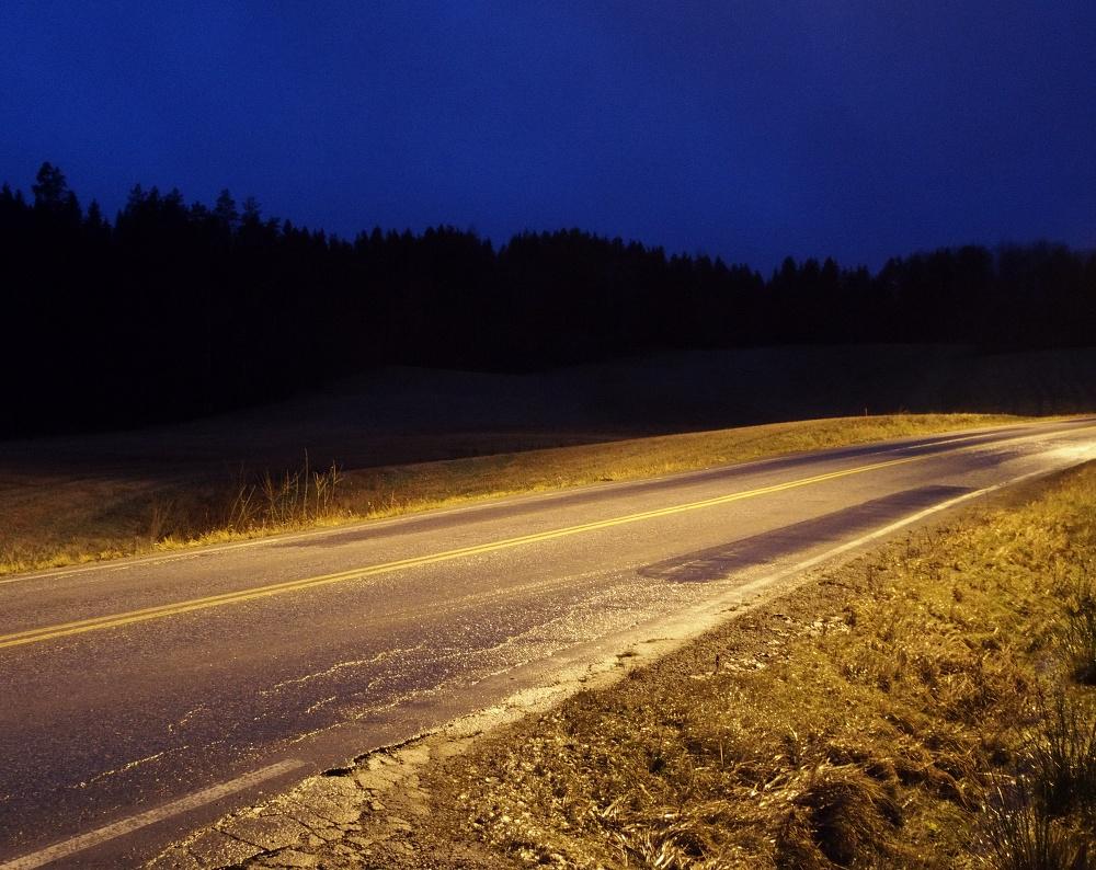 unoccupied spotlight