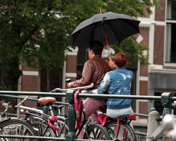 Un petit coin de parapluie.