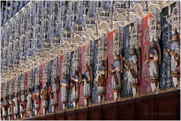 chœur statues gothique choir Gothic statues