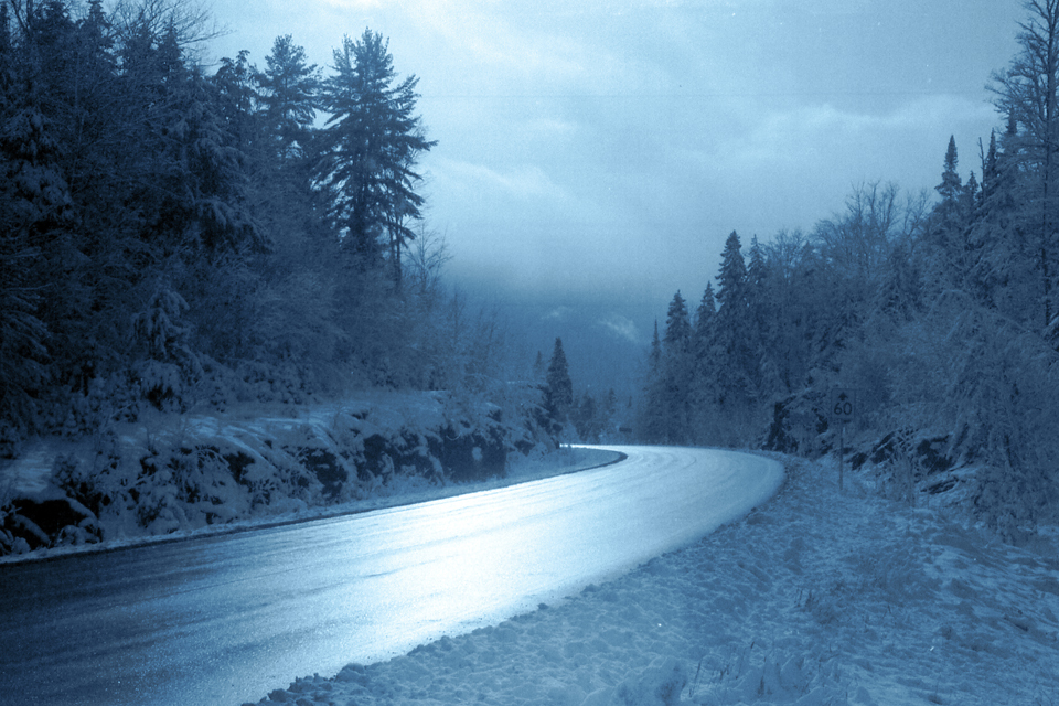 A Winter Day in Haliburton