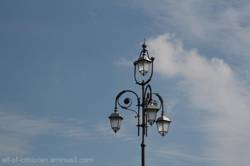 Italian street lantern