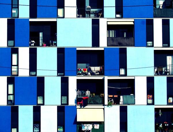 Culé blanc i blau