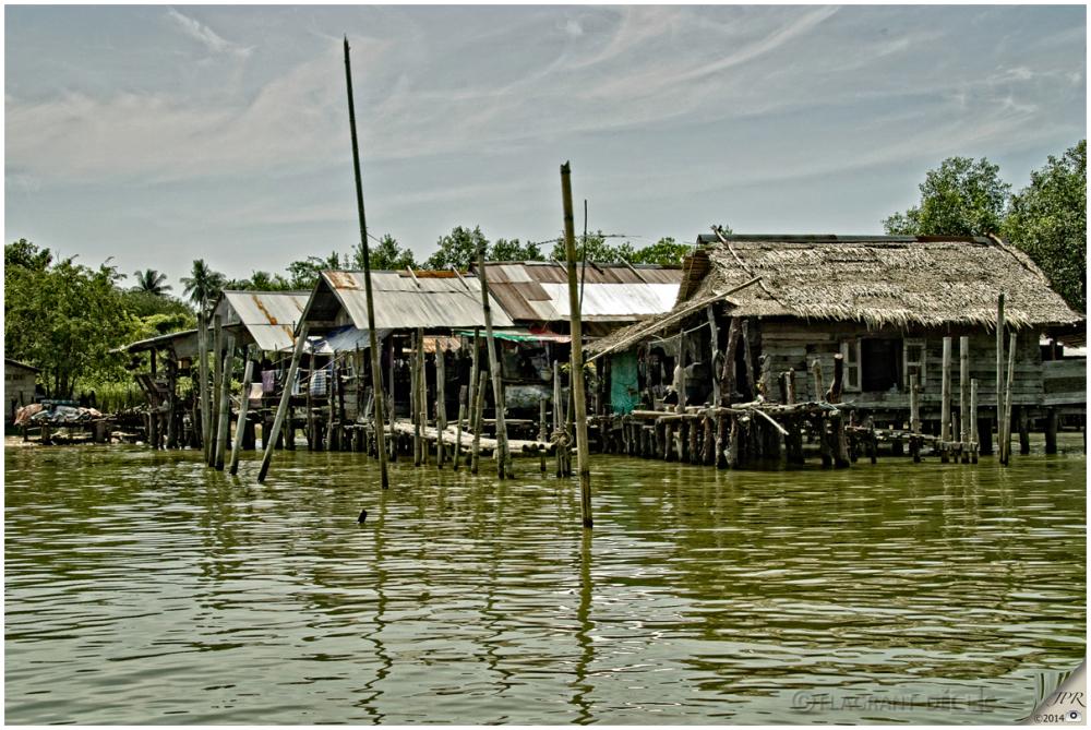 Village lacustre - Lakeside village