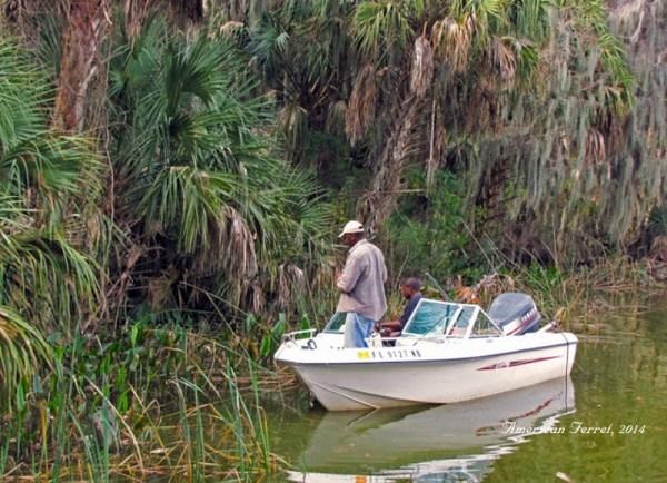 Fishing on Lake Dora