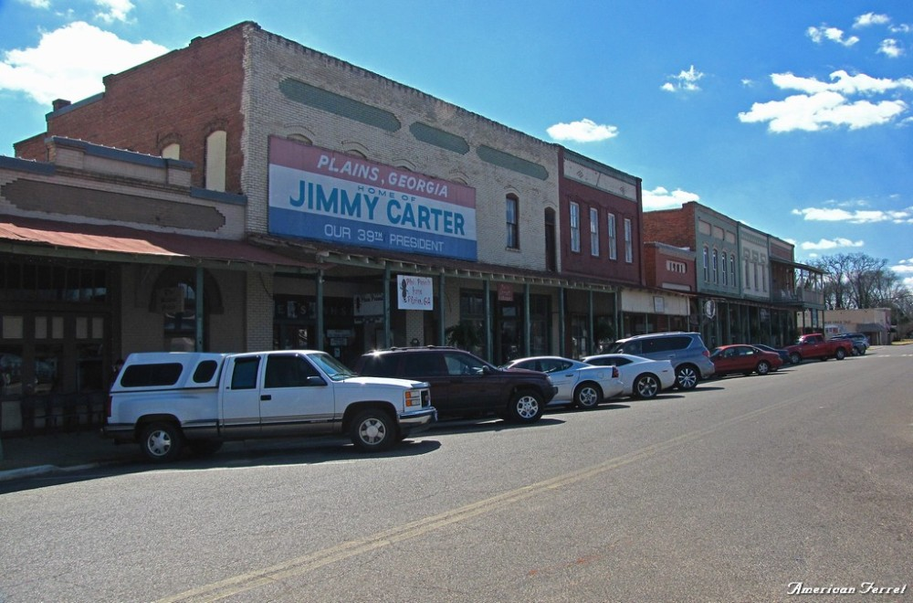 Downtown Plains, Georgia