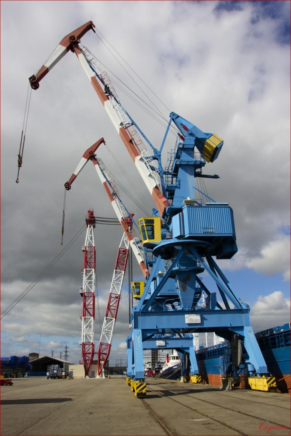 Levage série portuaire