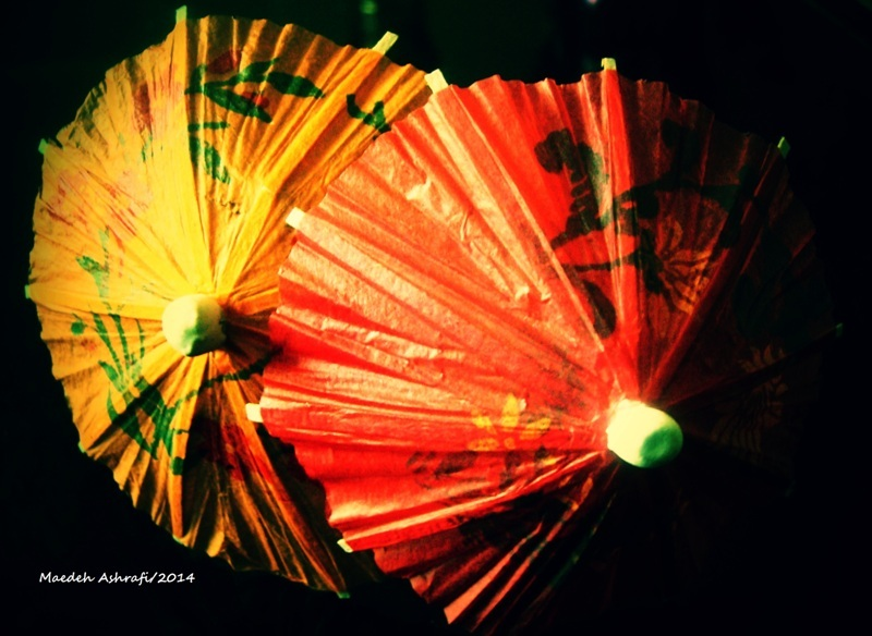 Umbrella for two individuals