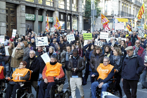 barcelona,digital,street,protest,#24n,photography