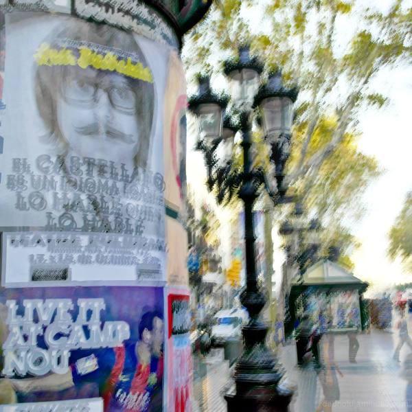 Morning, La Rambla, Barcelona.