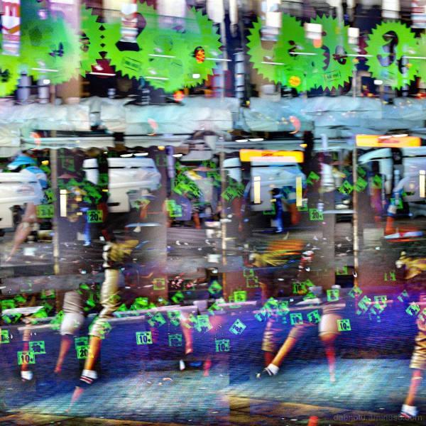 Barcelona digital street photography + GIMP edit!