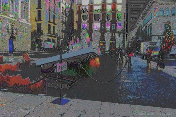 Barcelona VOX ADPCM databent street photography!