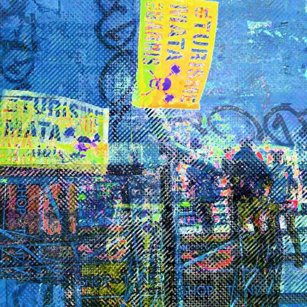 Barcelona HSV color separation street photography!