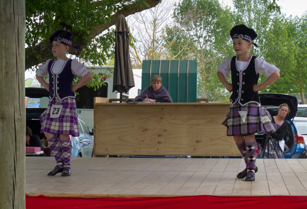The Highland Dance Competition