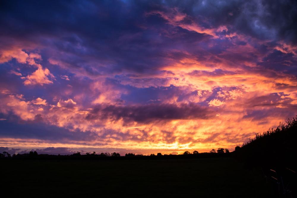 Waikato Hamilton Sunset