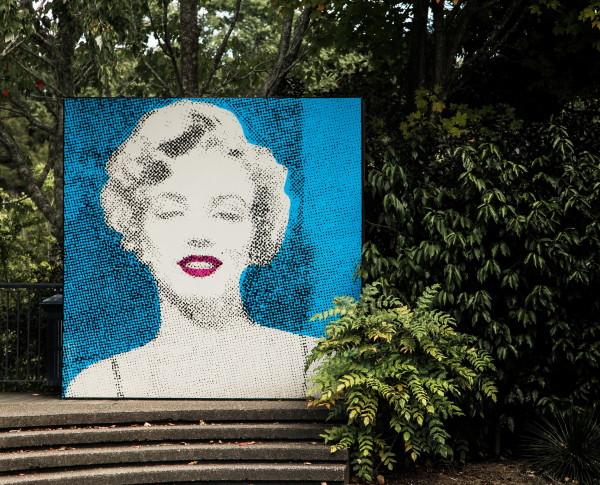 Marilyn mural hamilton