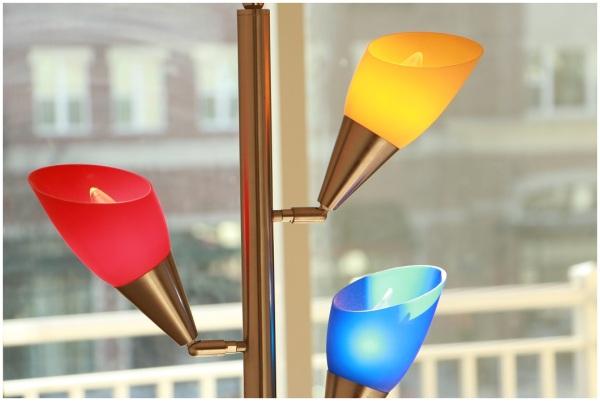 Colorful lamp lamps